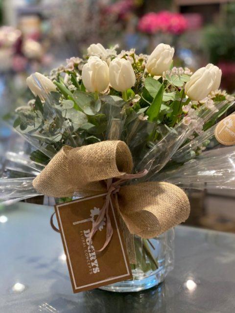 Tulipanes blancos de Docrys Floral Concepts