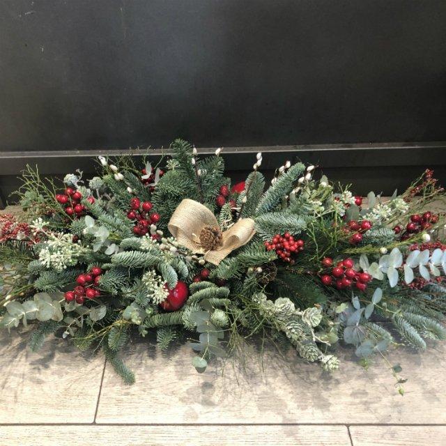 Centro de mesa de Navidad de 1 metro