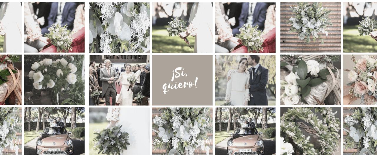 Ramos de novia y decoración para bodas de Docrys Floral Concepts